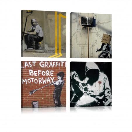 Quadro - Banksy: arte di strada - Quadri e decorazioni