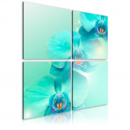 Quadro - L'azzurro di un orchidea - Quadri e decorazioni