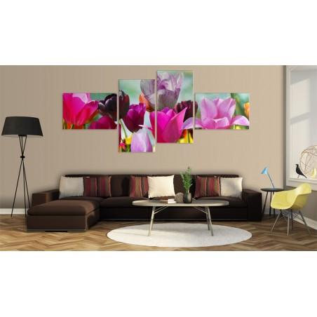 Quadro - Incanto dei tulipani rosa - Quadri e decorazioni