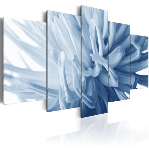 Quadro - Fiore azzurro di dalia - Quadri e decorazioni