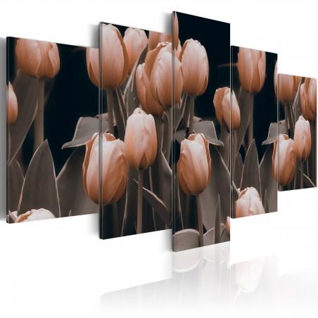 Quadro - Tulipani in seppia - Quadri e decorazioni