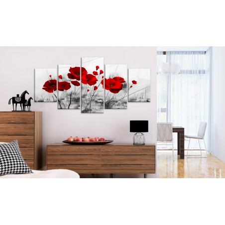 Quadro - papaveri - rosso miracolo - Quadri e decorazioni