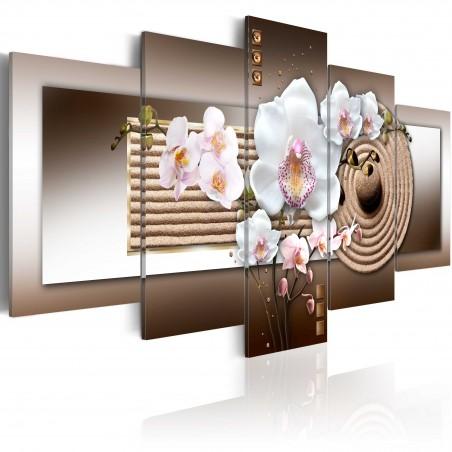 Quadro - Orchidea e giardino zen - Quadri e decorazioni