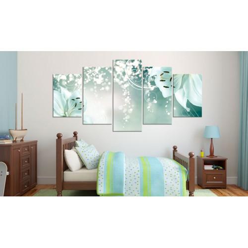 Quadro - Magica composizione del verde - Quadri e decorazioni