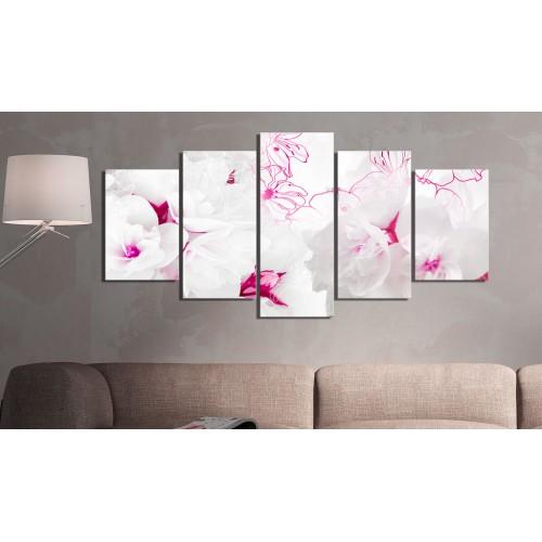 Quadro - Ragnatela rosa - Quadri e decorazioni