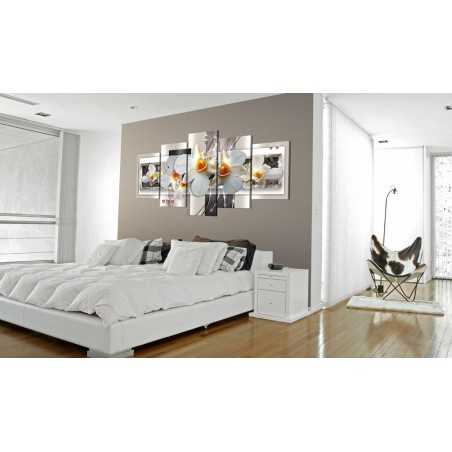 Quadro - Discrezione bianca - Quadri e decorazioni