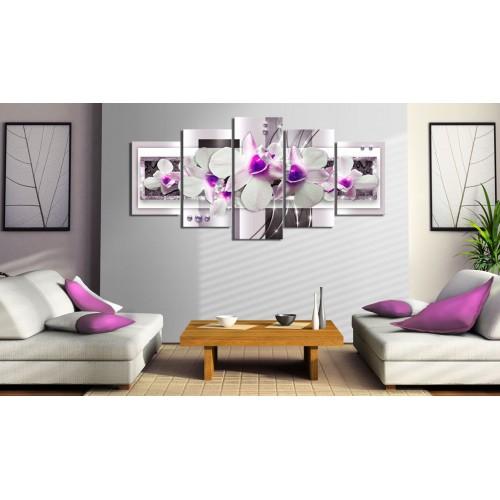 Quadro - Con accento viola - Quadri e decorazioni