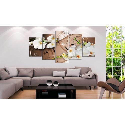 Quadro - Orchidee in avorio - Quadri e decorazioni