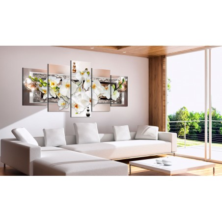 Quadro - Orchidea bianca astratta - Quadri e decorazioni