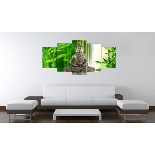 Quadro - Buddha che sta meditando - Quadri e decorazioni