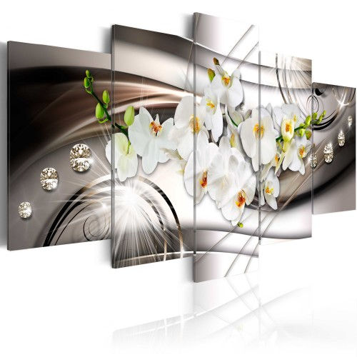 Quadro - Orchidea con diamanti - Quadri e decorazioni