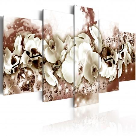 Quadro - Orchidea color cioccolato - Quadri e decorazioni