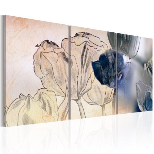 Quadro - Schizzo di tulipani - Quadri e decorazioni