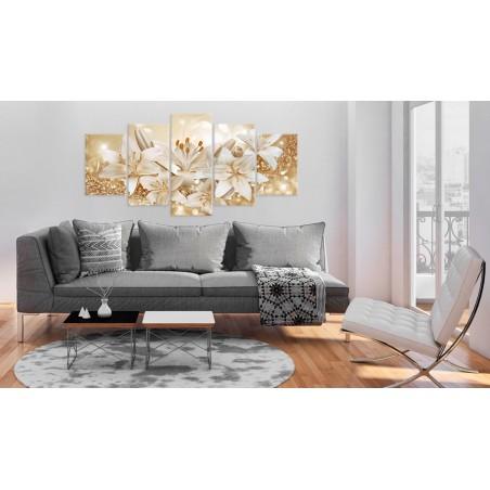 Quadro - Golden Bouquet - Quadri e decorazioni