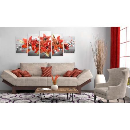 Quadro - Flowery Battle - Quadri e decorazioni