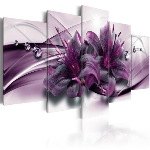 Quadro - Violet Lily - Quadri e decorazioni