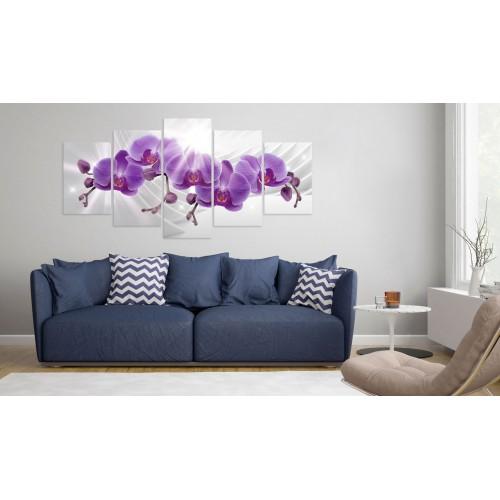 Quadro - Abstract Garden: Purple Orchis - Quadri e decorazioni