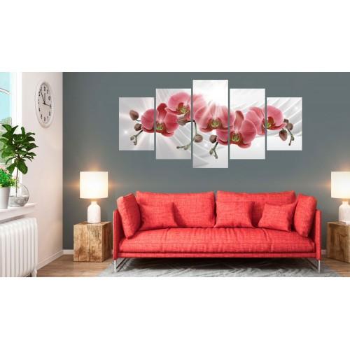 Quadro - Abstract Garden: Red Orchis - Quadri e decorazioni