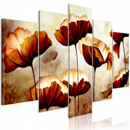 Quadro - High Summer (5 Parts) Wide - Quadri e decorazioni