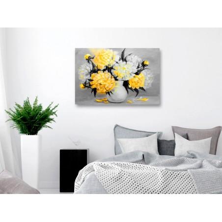 Quadro - Fragrant Colours (1 Part) Wide Yellow - Quadri e decorazioni