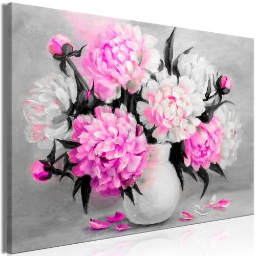 Quadro - Fragrant Colours (1 Part) Wide Pink - Quadri e decorazioni