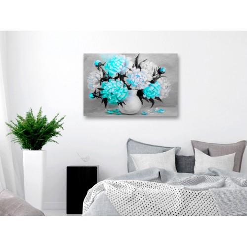 Quadro - Fragrant Colours (1 Part) Wide Blue - Quadri e decorazioni