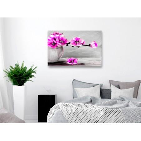 Quadro - Lightness of Light (1 Part) Wide Pink - Quadri e decorazioni