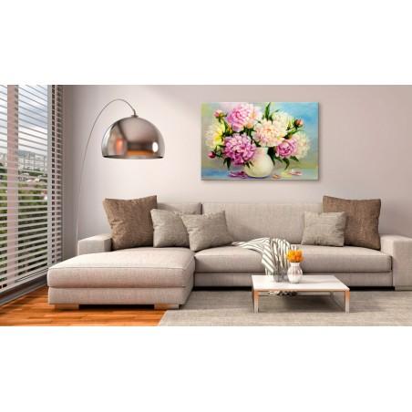 Quadro - Peonies: Bouquet of Happiness - Quadri e decorazioni