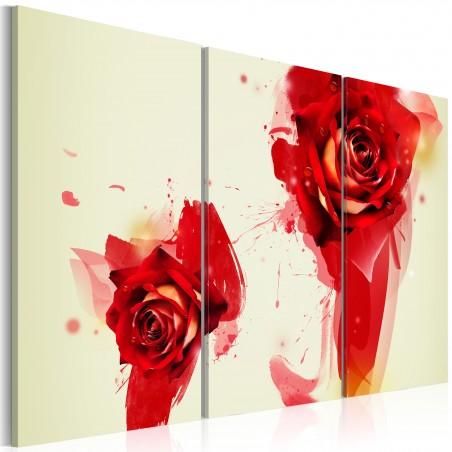 Quadro - Nuovo sguardo sulle rose - Quadri e decorazioni