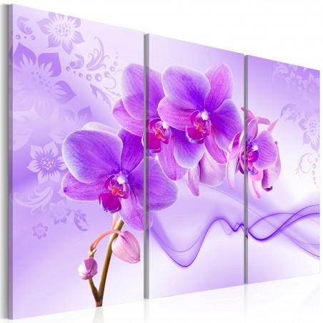 Quadro - Orchidea eterica - viola - Quadri e decorazioni