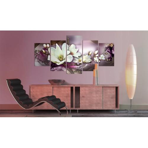 Quadro - Astrazione magnetica con orchidea - Quadri e decorazioni