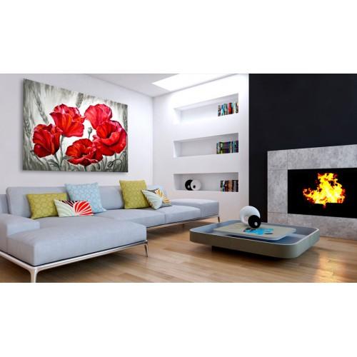 Quadro - Poppies in Wheat - Quadri e decorazioni