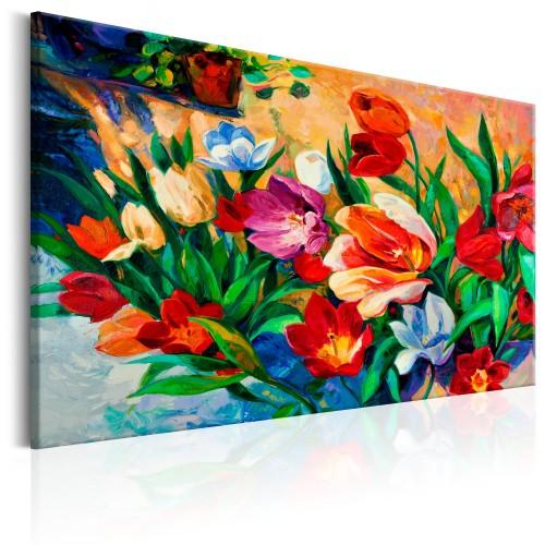 Quadro - Art of Colours: Tulips - Quadri e decorazioni