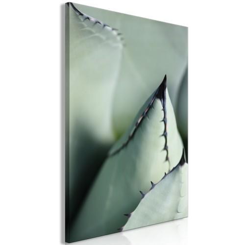 Quadro - Green Spikes (1 Part) Vertical - Quadri e decorazioni