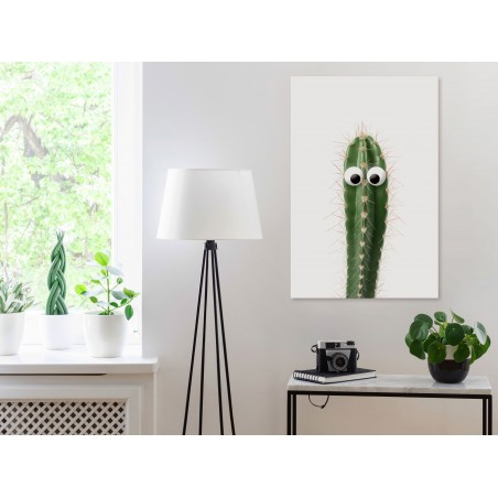 Quadro - Live Cactus (1 Part) Vertical - Quadri e decorazioni