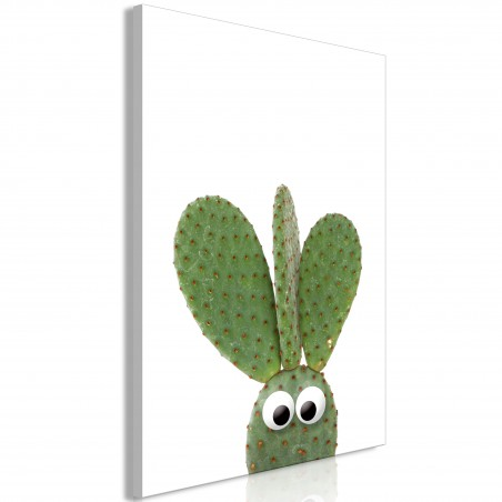 Quadro - Ear Cactus (1 Part) Vertical - Quadri e decorazioni
