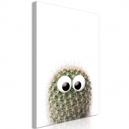 Quadro - Cactus With Eyes (1 Part) Vertical - Quadri e decorazioni