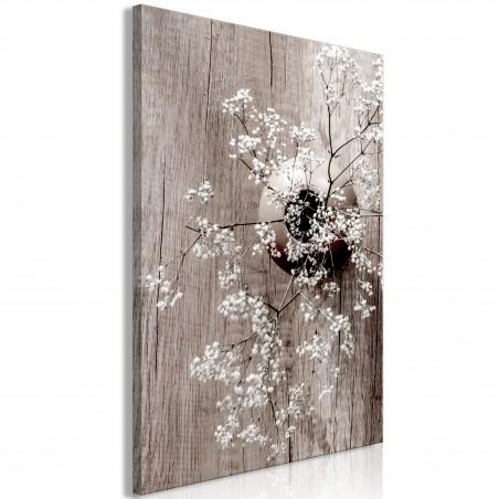 Quadro - Dried Flowers (1 Part) Vertical - Quadri e decorazioni