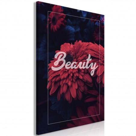 Quadro - Beauty (1 Part) Vertical - Quadri e decorazioni