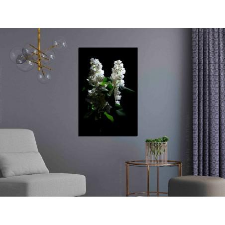 Quadro - Lilacs at Night (1 Part) Vertical - Quadri e decorazioni