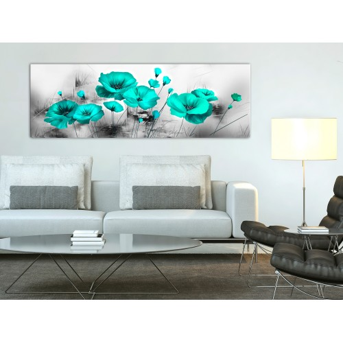 Quadro - Turquoise Meadow (1 Part) Narrow - Quadri e decorazioni