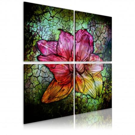 Quadro - Fiore di vetro - Quadri e decorazioni