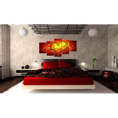 Quadro - Cuore ardente - Quadri e decorazioni