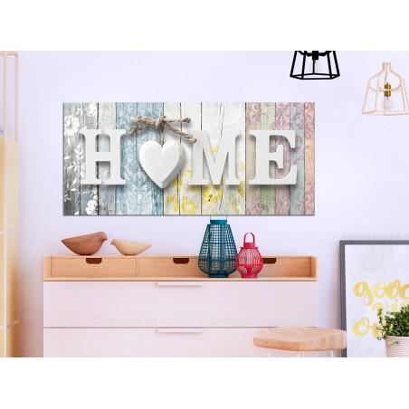 Quadro - Smell of Home (1 Part) Colourful Wide - Quadri e decorazioni