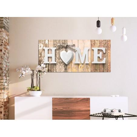 Quadro - Smell of Home (1 Part) Beige Wide - Quadri e decorazioni