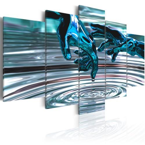 Quadro - Cerchi d'acqua - Quadri e decorazioni