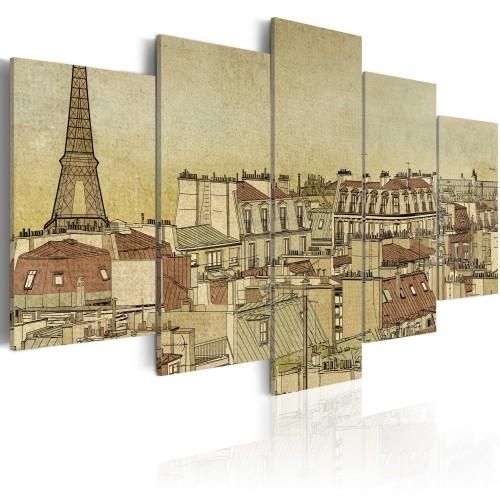Quadro - La Parigi dei secoli passati - Quadri e decorazioni