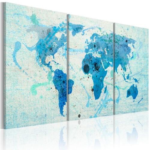 Quadro - Continenti come oceani - Quadri e decorazioni
