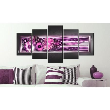 Quadro - Onde in rosa - Quadri e decorazioni