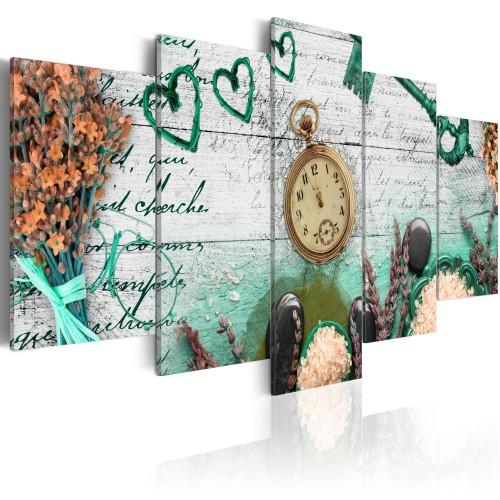 Quadro - Composizione dello smeraldo - Quadri e decorazioni